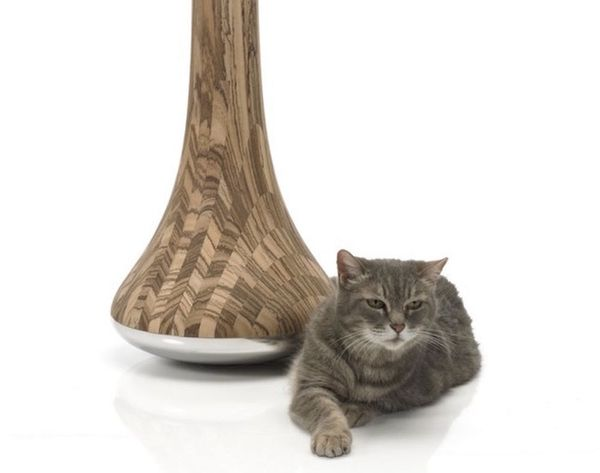 Me-yow! This Cat Scratching Post Looks like Art