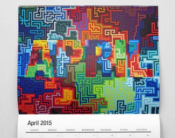 6 Artsy Calendars for Font Fanatics