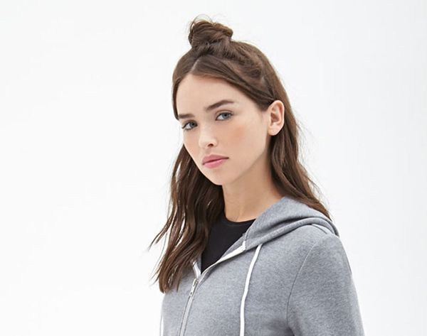 New Hair Trend: How to DIY the Half Top Knot