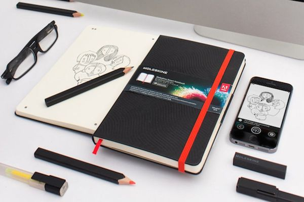 Moleskine's Latest Collab Lets You Edit Your Doodles in Photoshop