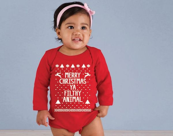 10 of the Cutest Holiday Onesies for Your Tiny Tot