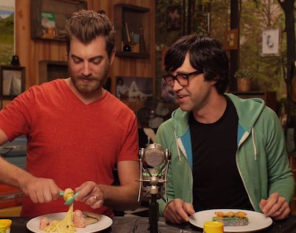 WATCH: These Guys Make Real Food Using Play-Doh Kitchen Tools