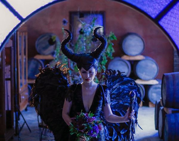 This Maleficent-Themed Wedding Is Scary Good