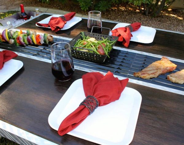 The Outdoor Grill Brings Benihana to Your Backyard