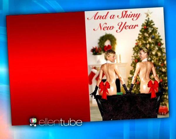 Ellen DeGeneres Is Looking to #BreakTheInternet With Her Holiday Card