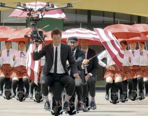 How OK Go Made a Mind-Blowing Drone Music Video