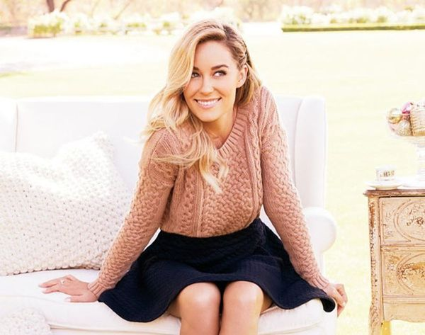 Lauren Conrad's Pre-Wedding Updo Is a Boho Bride's Dream