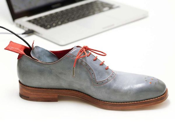 Whoa! These Shoes Have Built-In GPS