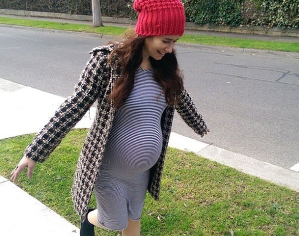 8 Cozy-Chic Ways to #StyleTheBump, Straight from Instagram
