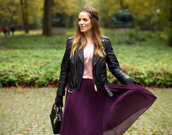 21 Cool Ways to Style a Leather Jacket