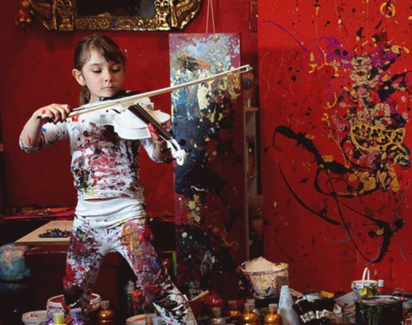 Is This 7-Year-Old the Next Jackson Pollock?