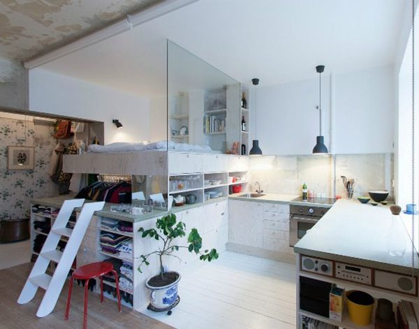 This Tiny Apt Will Give You Major Small Space Envy