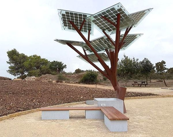 A Tree That Charges Your Phone? Welcome to the Future