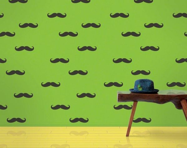 22 Mustache Home Accents to Celebrate Movember