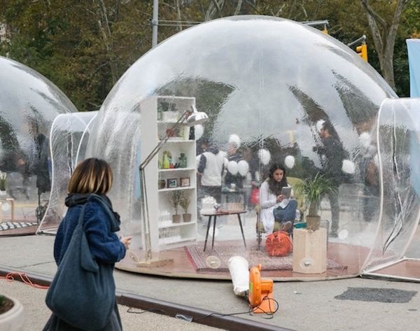 #PopUpTherapy: This NYC Installation Is Raising Mental Health Awareness