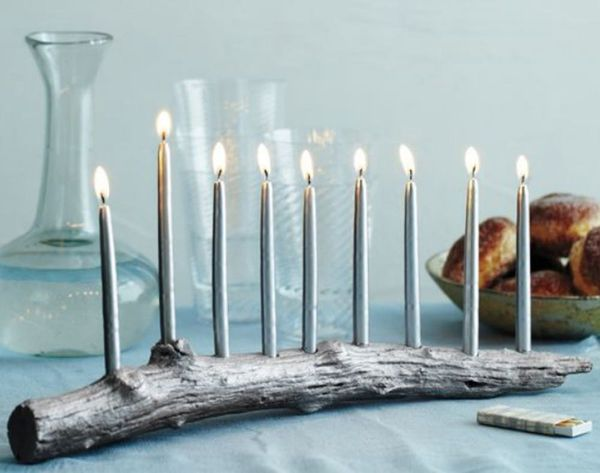 13 DIY Menorahs to Make This Hanukkah