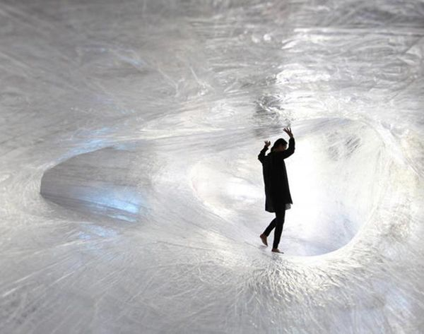 Whoa! Take a Tour of These Caves Made of Tape