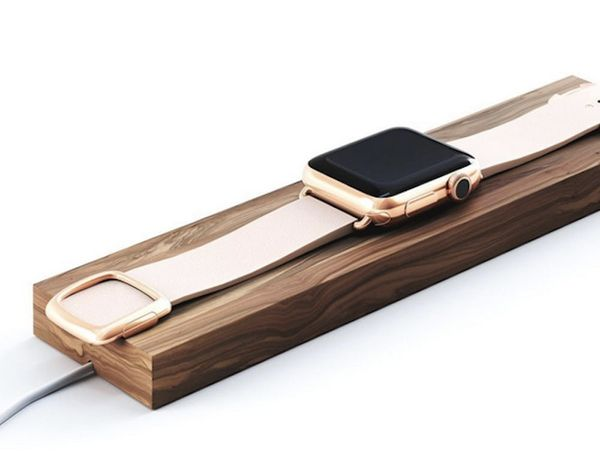 This Apple Watch Charging Dock Is Gorgeous