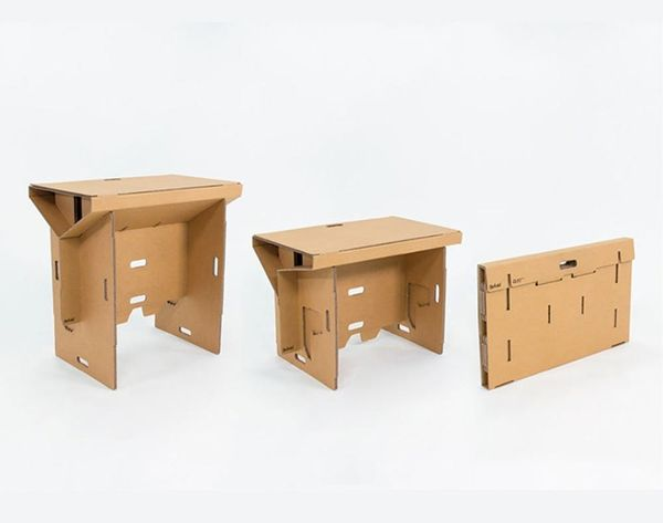This Cardboard Standing Desk Will Change the Way You Work