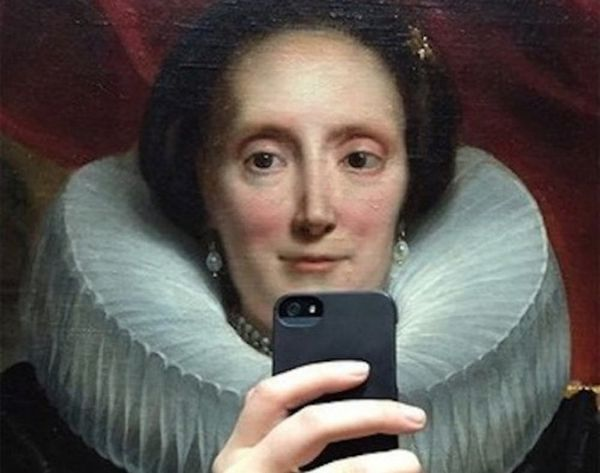 These Selfie Portraits Are the Ultimate #Throwback