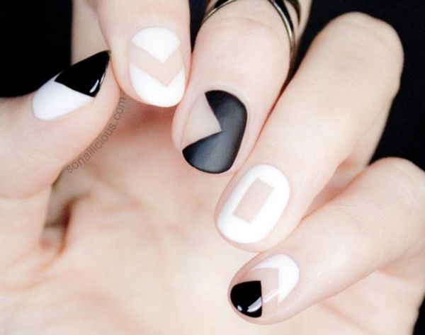 26 Ways to Rock Negative Space Nails