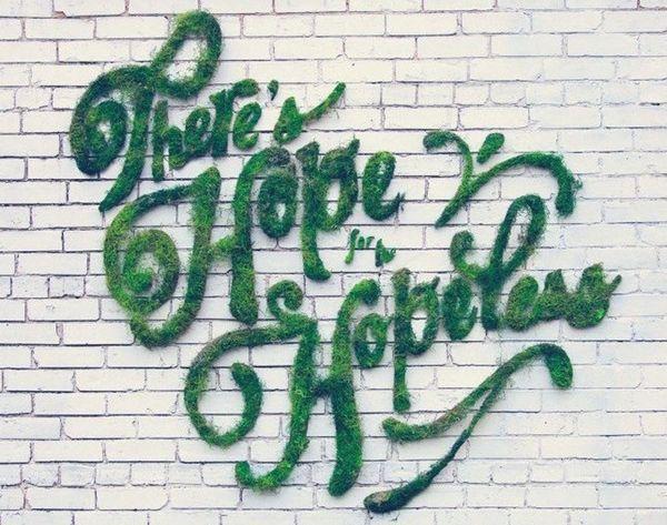DIY Moss Graffiti Is Your New Fave Street Art
