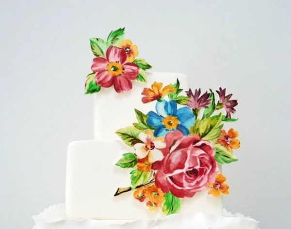 22 Watercolor Cakes *Almost* Too Pretty to Eat