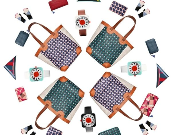 Fossil x Eley Kishimoto = The Brightest Fashion Collab of the Season