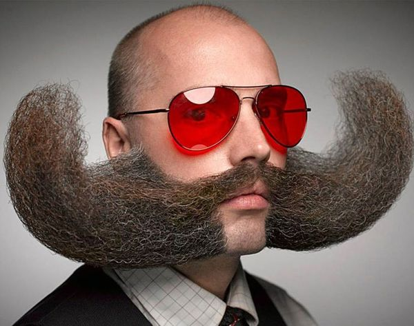 10 of the Wackiest Looks from the World Beard + Mustache Championships