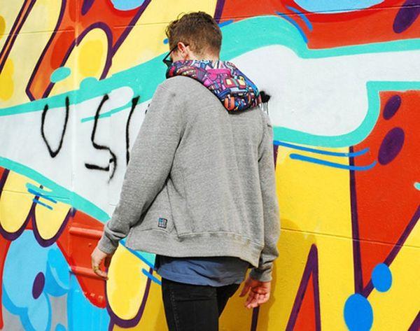 This Sweatshirt Makes Street Art Wearable