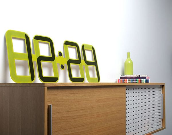 This Ultra-Thin Clock Is the Wall Candy Your Home Is Craving
