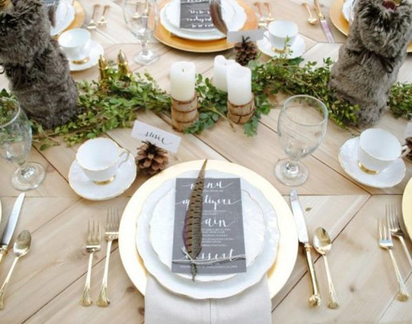 15 Totally DIY-able Thanksgiving Tablescapes