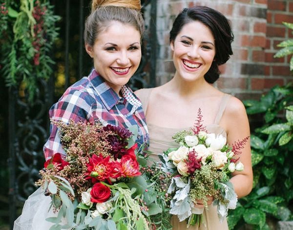 16 Ways to Add Some Plaid to Your Wedding