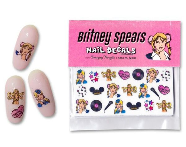 Beyoncé, Britney + Golden Girls Nail Decals? Yes, Please!