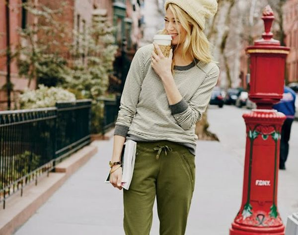 19 Chic Sweatpant Looks to Try This Fall