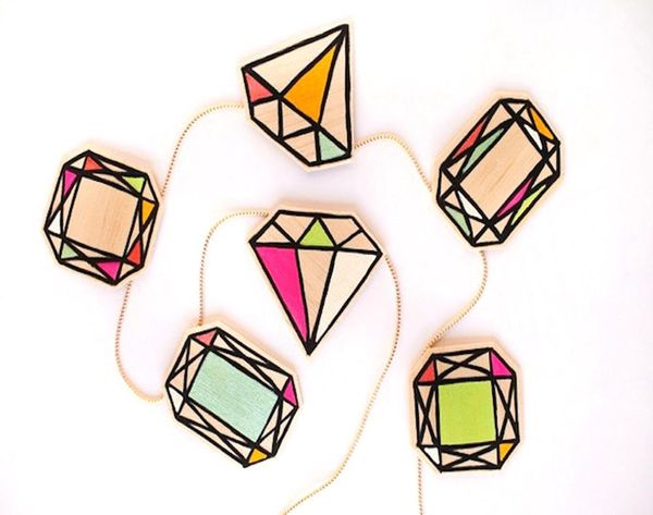 Put a Diamond On It: 25 DIY Gem-Inspired Projects