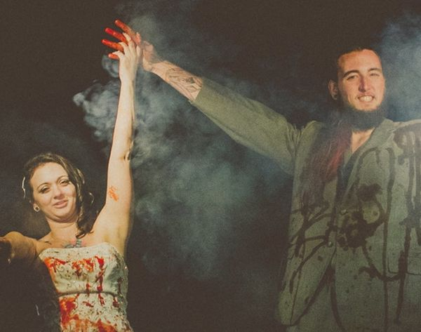 This Halloween-Themed Wedding Is Super Spooktacular