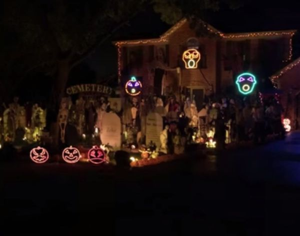 WATCH: This Is THE Best Halloween-ified House