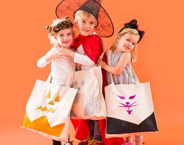 11 DIY Trick-or-Treat Bags to Make ASAP