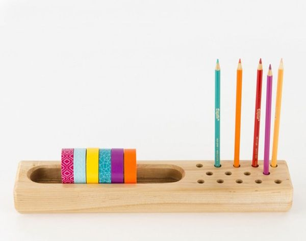 Take Your Workspace From Blah to Beautiful With These Wooden Products