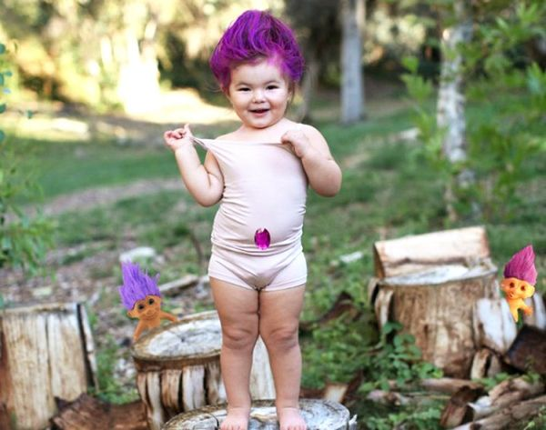 Made Us Look: We Want This Cutie's Mom to Make Our Halloween Costumes