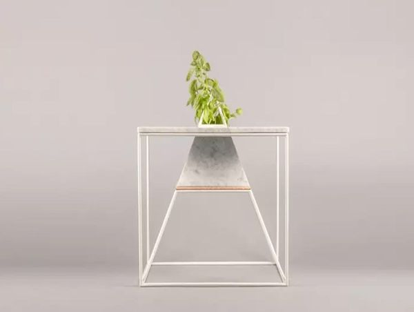 What?! This Coffee Table Is Also a Planter