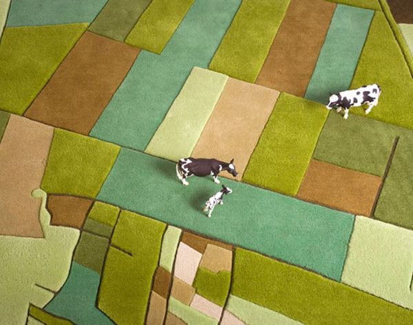 Can You Tell Which Country Each of These Carpets Represents?