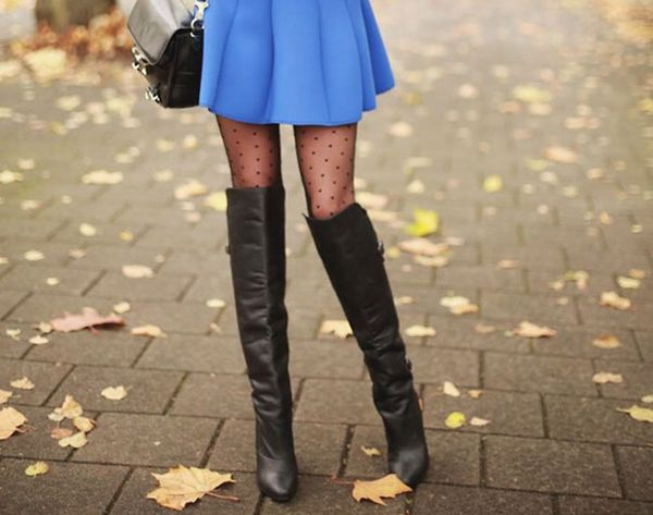 18 Ways to Pair Boots With Skirts