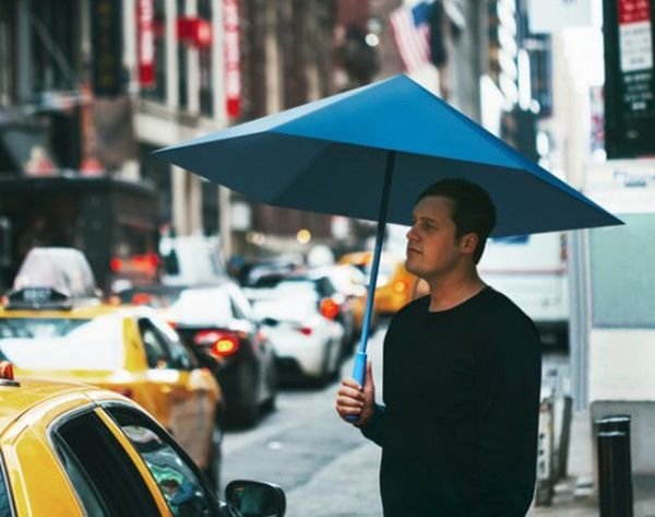 This Eco-Friendly Umbrella Folds Like Origami