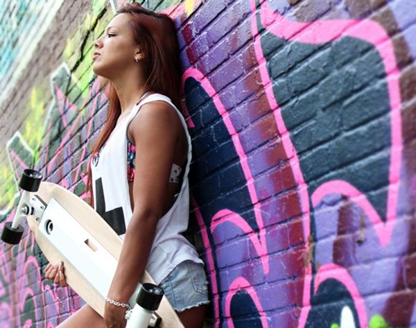 This Skateboard Charges Your Phone… and Plays Music!