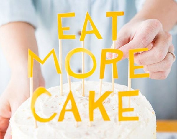 Beyond Candles: 21 DIY Cake Toppers That Steal the Show