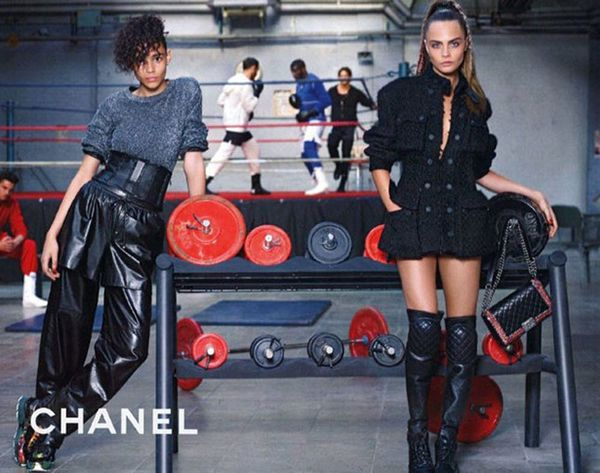 This Is What a Chanel Gym Looks Like IRL