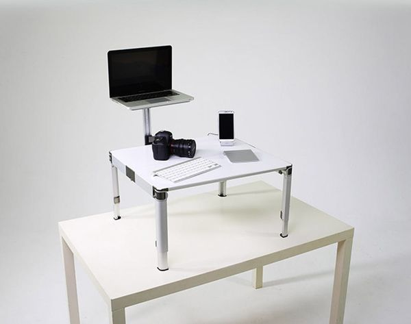 Meet the World's First Truly Portable Standing Desk