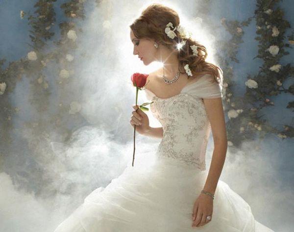 Disney Princess-Themed Wedding Dresses: The New Bridal Trend?